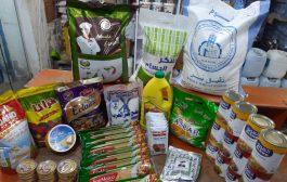 توزيع ١٠٠ سلة عيدية لذوي الاحتياجات في عدن