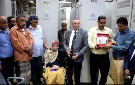 بحضور نائب وزير حقوق الإنسان :الشبكة الوطنية لمناصرة ذوي الهمم تكرم (أحد كوادر الاتصالات)