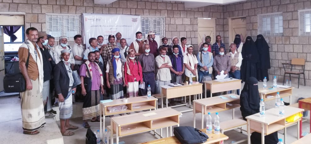 لقاء لمنظمة رعاية الأطفال مع قادة المجتمع في مديرية المقاطرة
