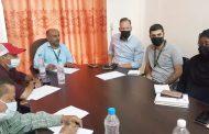 الحريري يناقش مع مسؤولي منظمة انقاذ الدولية تدخلات المنظمة في المديرية