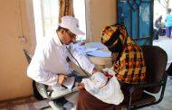 لحج : تدشن مشروع العيادة المتنقلة للرعاية الصحية الأولية للنازحين في مخيمات المحافظة